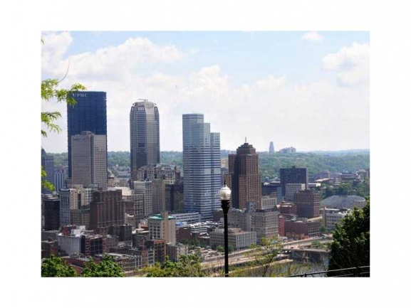 Enjoy Looking at Downtown Pittsburgh from your Balcony!