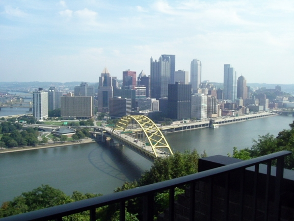 Enjoy the Views of Pittsburgh from your Home at 1000 Grandview