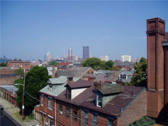 Beautiful Views of the South Side and City of Pittsburgh