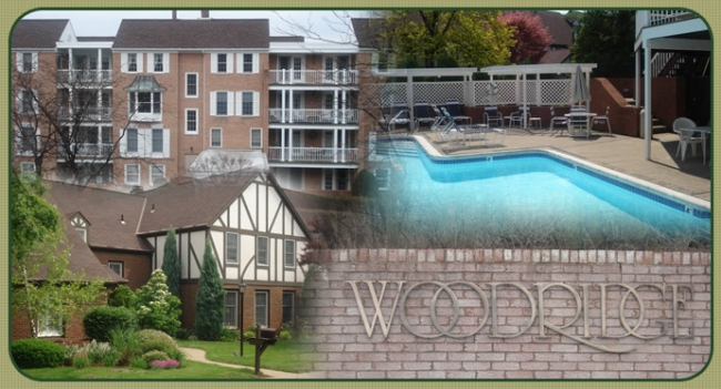 Woodridge Community has Townhomes and Condominiums