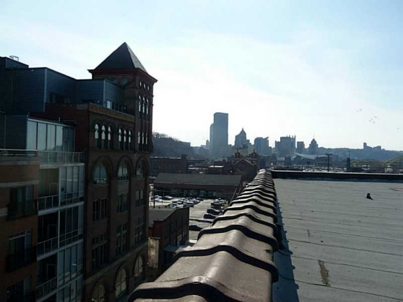 View of Downtown Pittsburgh from Condo
