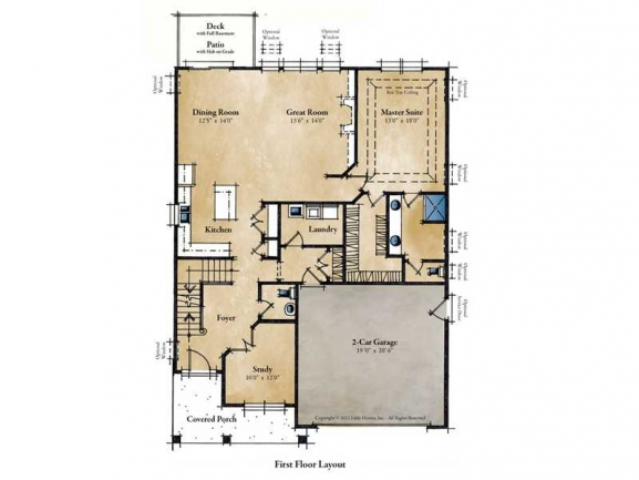 One of Many Floor Plans