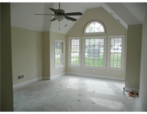 Vaulted Ceilings and Large Windows to let the light in
