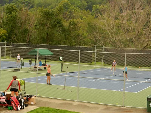 Tennis Courts at Peters Twp Community Recreation Center