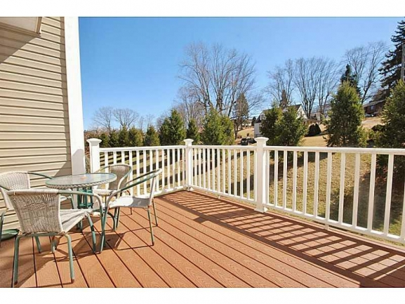 Large Decks on Townhomes