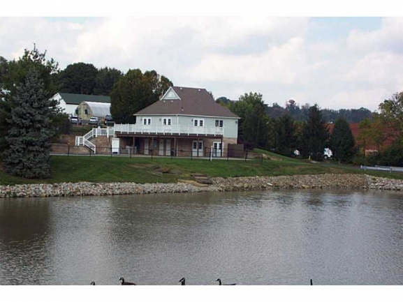 View of Clubhouse from Lake