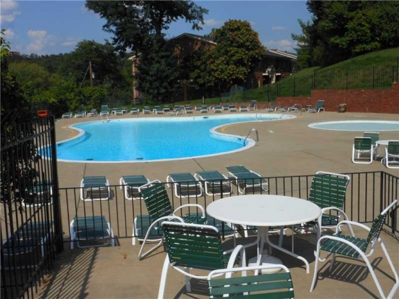 Lots of Seating in Pool Area