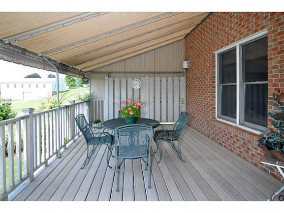 Enjoy your morning coffee on this spacious Patio