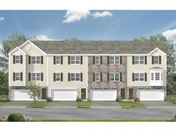 Colonial Point Townhomes - Illustration