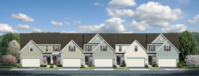 New Construction Carriage Home Villas by Ryan Homes - The Calvert
