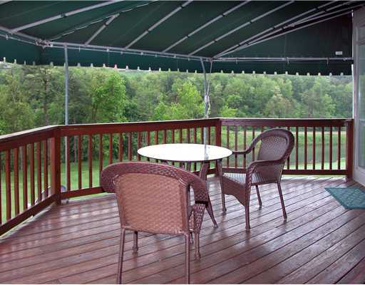 Enjoy the Views from your Large Deck