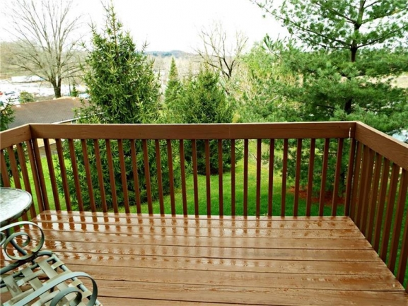 Enjoy your morning coffee on your deck