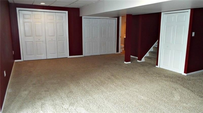 This unit has a finished basement